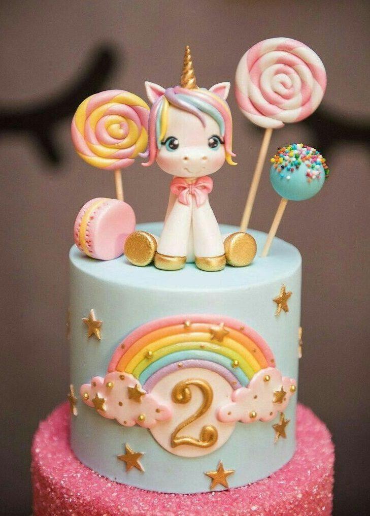 کیک تولد یونیکورن جدید