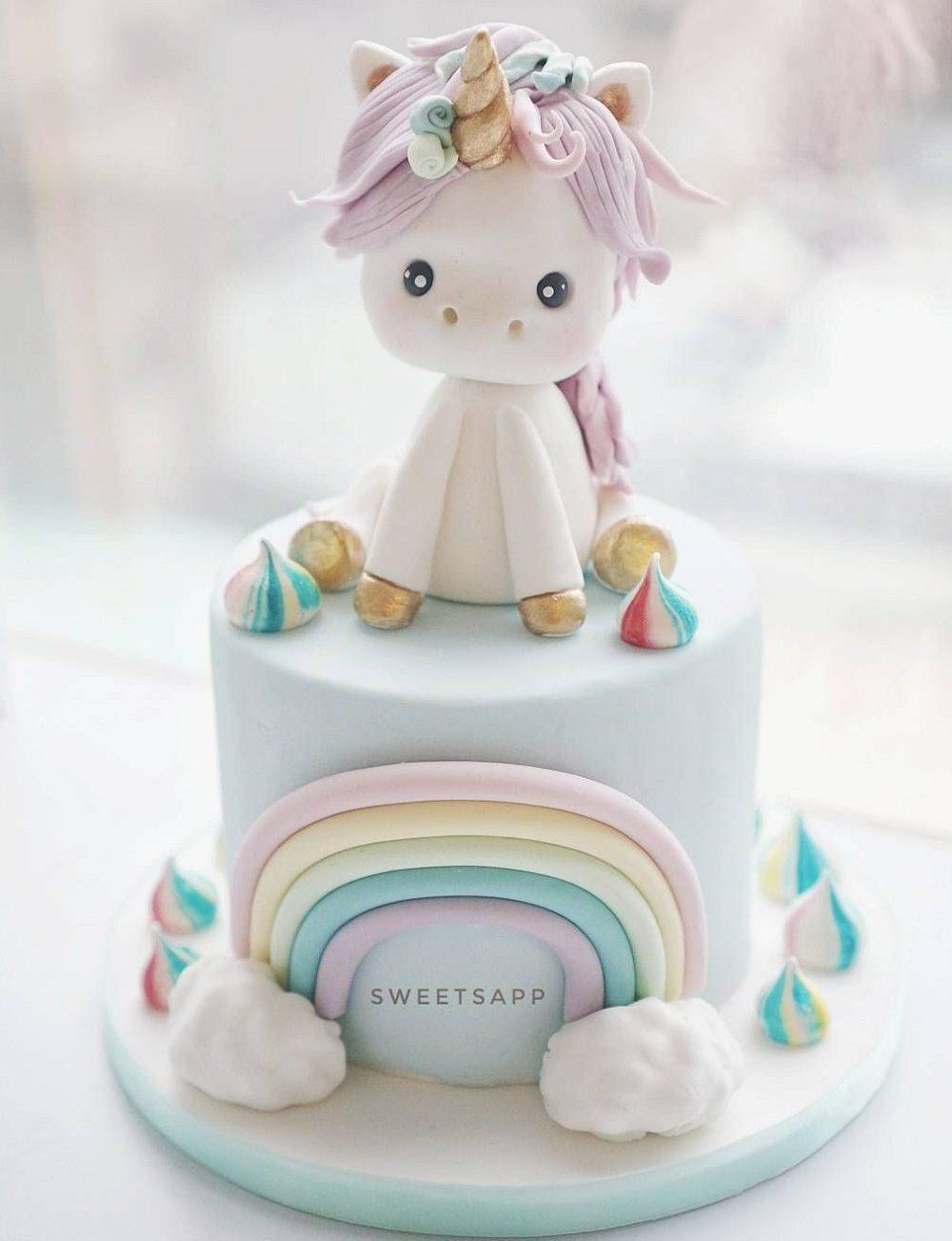 عکس یونیکورن برای کیک تولد