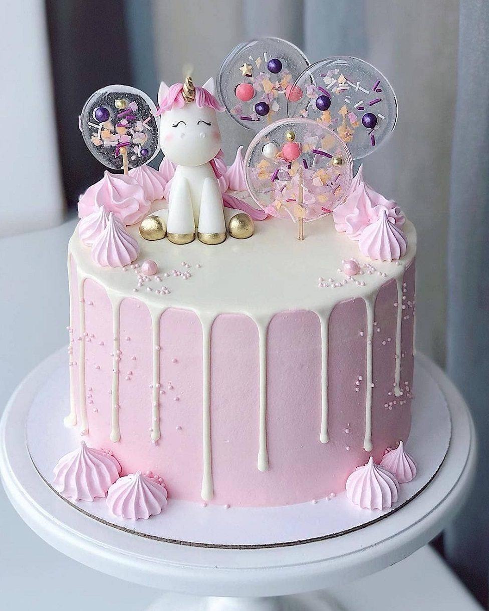 عکس کیک تولد مدل یونیکورن