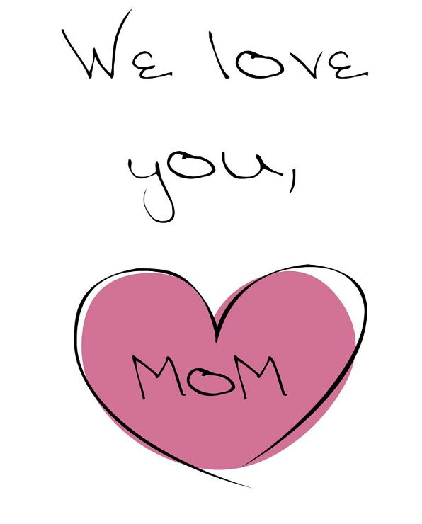 متن دوستت دارم مادر