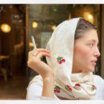 عکس زیبا از فرشته حسینی بازیگر افغانی